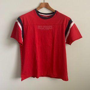 Vintage 90s Distressed Tommy Hilfiger T-Shirt